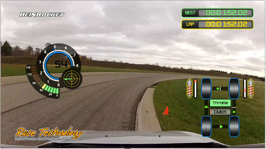 Racing Data Logger : Race technology dl sport gps data logger