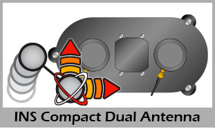 +INS Compact Dual Antenna